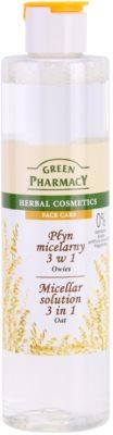 Green Pharmacy Face Care Oat água micelar 3 em 1