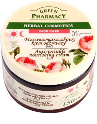 Green Pharmacy Face Care Rose hranilna krema proti gubam