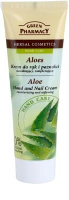 Green Pharmacy Hand Care Aloe krem nawilżająco-zmiękczający do rąk i paznokci
