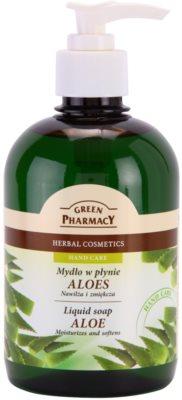 Green Pharmacy Hand Care Aloe jabón líquido