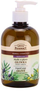 Green Pharmacy Hand Care Olive jabón líquido