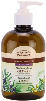 Green Pharmacy Hand Care Olive sabonete líquido