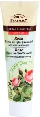 Green Pharmacy Hand Care Rose crema hidratanta si nutritiva pentru maini si unghii