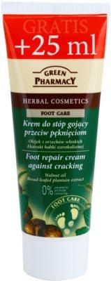 Green Pharmacy Foot Care crema reparadora para los pies agrietados