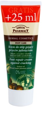 Green Pharmacy Foot Care erneuernde Creme für rissige Fußsohlen