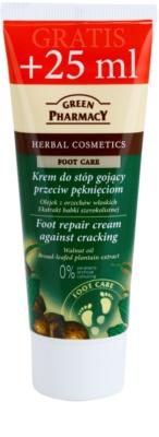 Green Pharmacy Foot Care megújító krém a repedezett talp bőrre