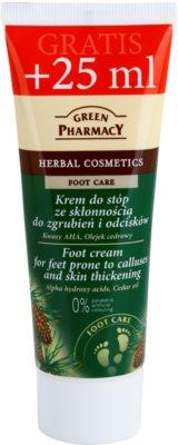 Green Pharmacy Foot Care krém na chodidlá so sklonom k mozoľom a hrubou kožou