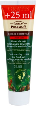 Green Pharmacy Foot Care nyugtató lábápoló krém ödémára hajlamos lábra