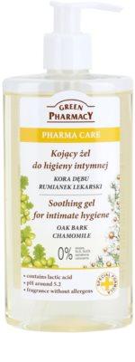 Green Pharmacy Pharma Care Oak Bark Chamomile nyugtató gél intim higiéniára