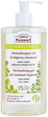 Green Pharmacy Pharma Care Oak Bark Tea Tree Gel für die intime Hygiene