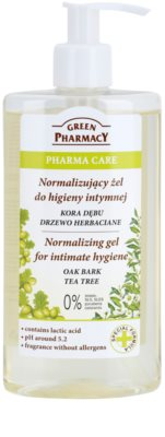 Green Pharmacy Pharma Care Oak Bark Tea Tree gel para higiene íntima