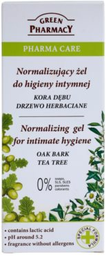 Green Pharmacy Pharma Care Oak Bark Tea Tree gél na intímnu hygienu 2
