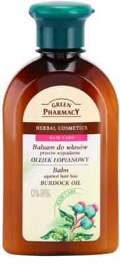 Green Pharmacy Hair Care Burdock Oil Balsam gegen Haarausfall