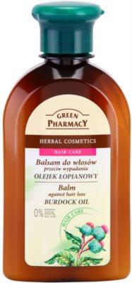 Green Pharmacy Hair Care Burdock Oil bálsamo anti-queda