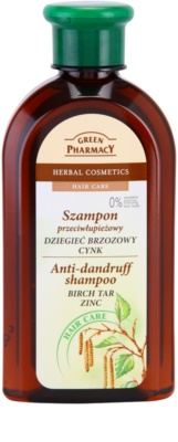 Green Pharmacy Hair Care Birch Tar & Zinc champú anticaspa