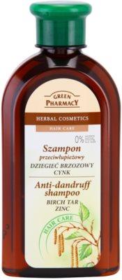 Green Pharmacy Hair Care Birch Tar & Zinc шампоан против пърхот