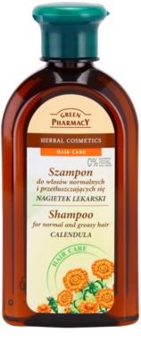 Green Pharmacy Hair Care Calendula champú para el cabello normal hasta graso