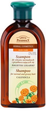 Green Pharmacy Hair Care Calendula sampon pentru par normal spre gras