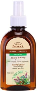 Green Pharmacy Hair Care bylinný elixír pro posílení vlasů a proti jejich vypadávání