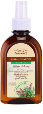 Green Pharmacy Hair Care elixir herbal para o fortalecimento dos cabelos e contra a queda