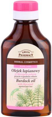 Green Pharmacy Hair Care Horsetail bojtorján olaj hajhullás ellen