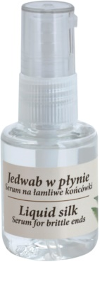 Green Pharmacy Hair Care Liquid Silk sérum para pontas danificadas