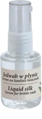Green Pharmacy Hair Care Liquid Silk serum za krhke konice las