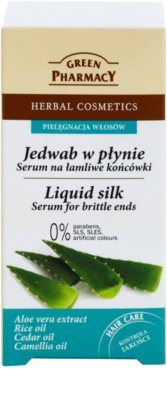 Green Pharmacy Hair Care Liquid Silk ser pentru capetel de par fragile 2