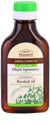 Green Pharmacy Hair Care Tea Tree & Rosemary bojtorján olaj korpásodás ellen