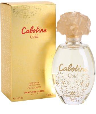 Gres Cabotine Gold Eau de Toilette para mulheres 1