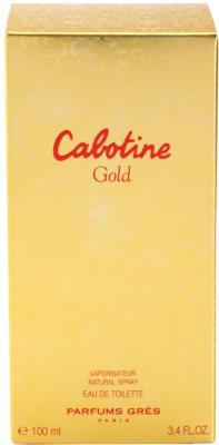 Gres Cabotine Gold Eau de Toilette para mulheres 4