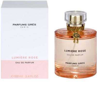 Gres Lumiere Rose Eau de Parfum für Damen