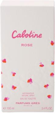 Gres Rose Eau de Toilette für Damen 4