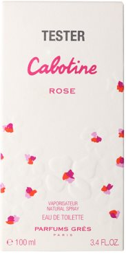 Gres Rose eau de toilette teszter nőknek 1