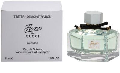 Gucci Flora by Gucci Eau Fraiche toaletná voda tester pre ženy 3