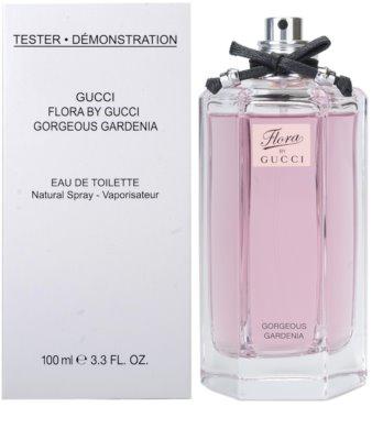 Gucci Flora by Gucci - Gorgeous Gardenia toaletní voda tester pro ženy 1