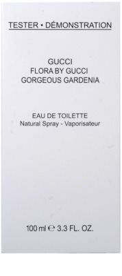 Gucci Flora by Gucci - Gorgeous Gardenia toaletní voda tester pro ženy 2