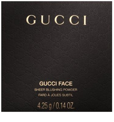 Gucci Face pudrová tvářenka 3