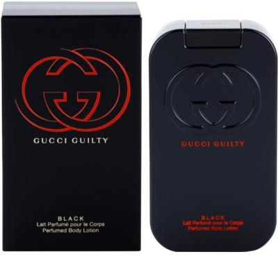Gucci Guilty Black Pour Femme mleczko do ciała dla kobiet