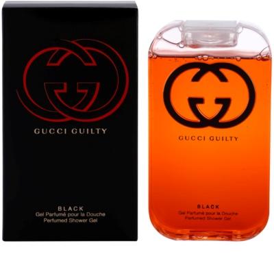 Gucci Guilty Black Pour Femme gel de duche para mulheres