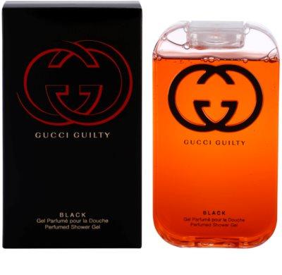 Gucci Guilty Black Pour Femme tusfürdő nőknek