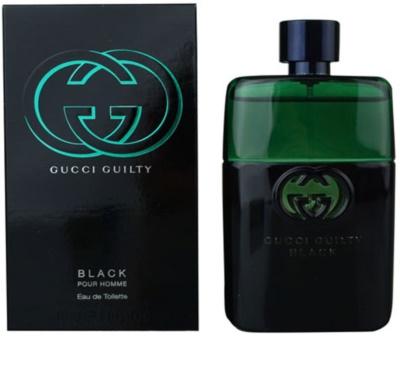Gucci Guilty Black Pour Homme eau de toilette férfiaknak