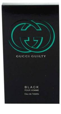Gucci Guilty Black Pour Homme eau de toilette para hombre 3