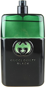Gucci Guilty Black Pour Homme toaletní voda tester pro muže