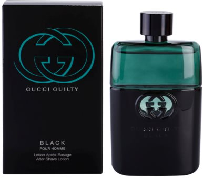 Gucci Guilty Black Pour Homme borotválkozás utáni arcvíz férfiaknak