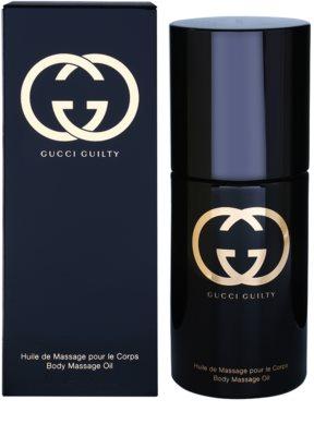 Gucci Guilty illatos olaj nőknek  masszázsolaj