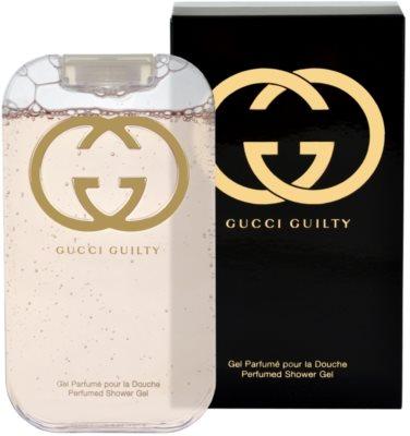 Gucci Guilty gel de duche para mulheres
