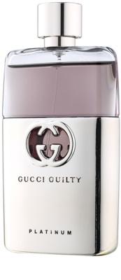 Gucci Guilty Pour Homme Platinum eau de toilette férfiaknak