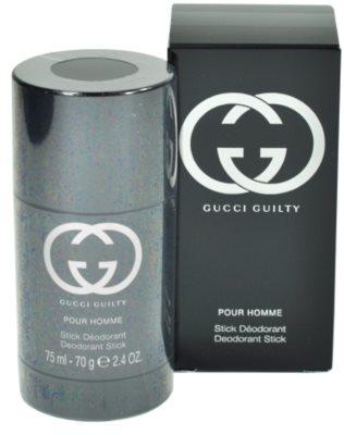 Gucci Guilty Pour Homme desodorante en barra para hombre