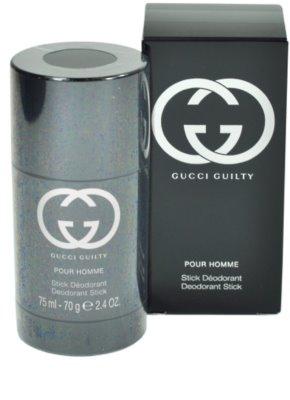 Gucci Guilty Pour Homme desodorizante em stick para homens